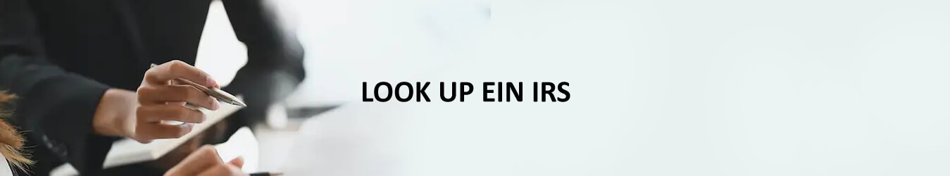 Look up EIN IRS