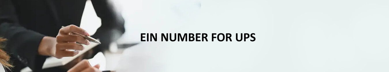 EIN Number for UPS